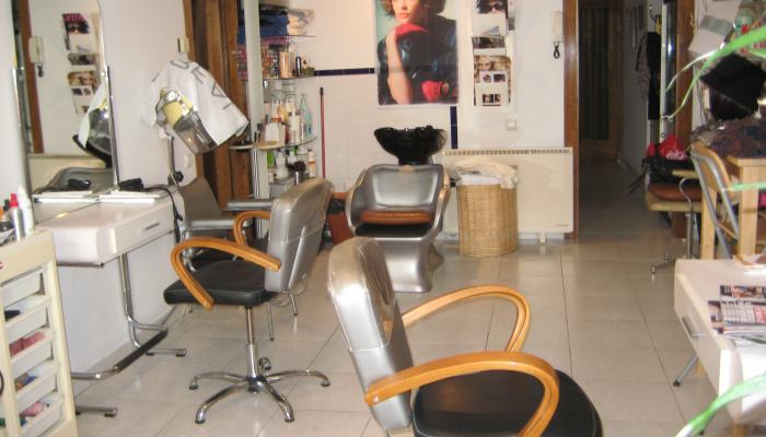 Interior perruqueria-estètica Anna